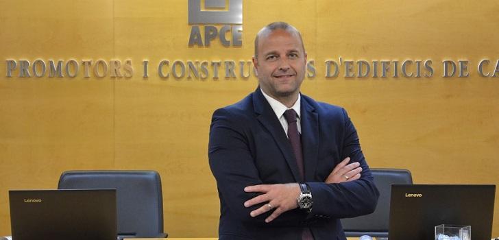Xavier Vilajoana, nuevo presidente de la Asociación de Promotores de Cataluña