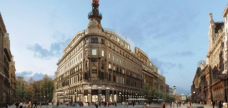 Urbanismo desatasca el centro comercial Canalejas en Madrid.