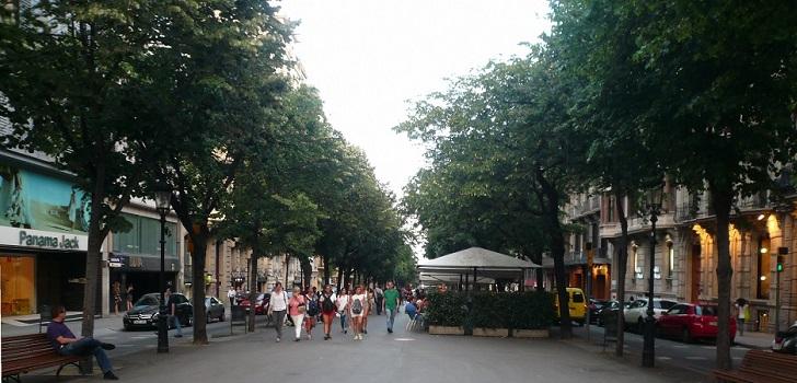 El tráfico en Rambla Catalunya supera los niveles pre Covid-19 en octubre