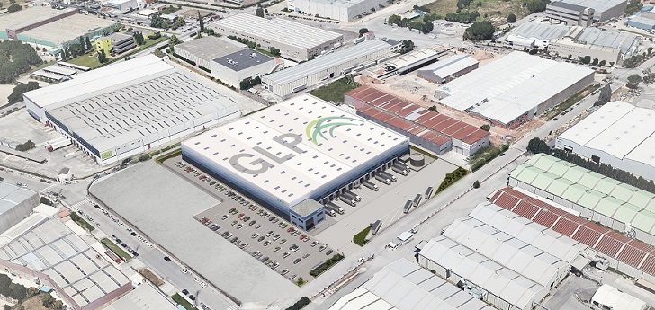 GLP promoverá una nave logística de 14.000 metros cuadrados en Barcelona