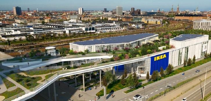 El parque público en un Ikea