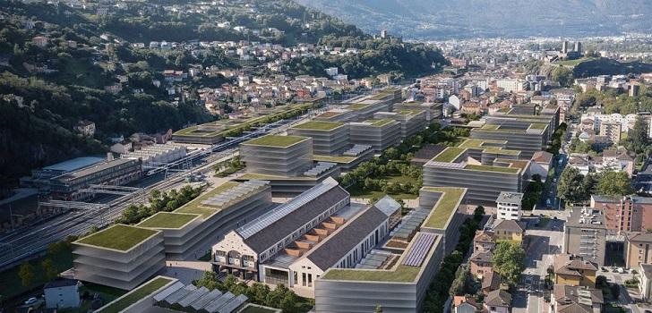 Distrito de oficinas a prueba de futuro