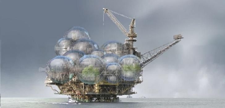 Vivir en una plataforma petrolera