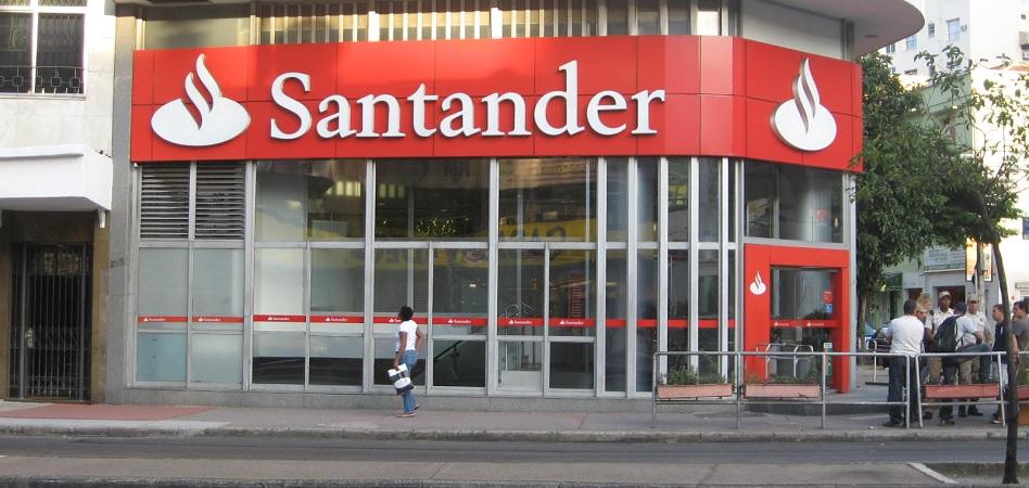 Santander crea una filial para la gestión de los locales que cierra