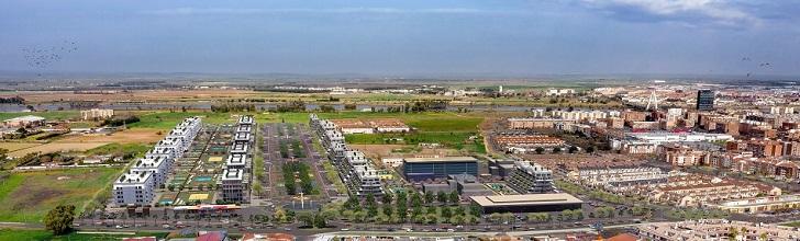 Badajoz impulsa la promoción de 870 viviendas en Distrito Rosales
