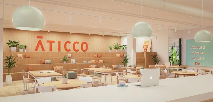 Aticco aterriza en Madrid con un centro de 2.262 metros cuadrados