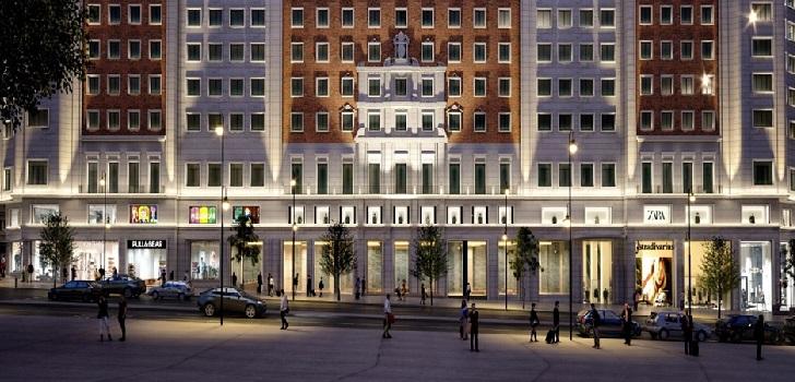 Inditex abrirá dos macrotiendas de Zara y Stradivarius en el Edificio España