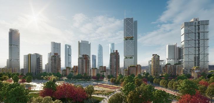 Axa se postula como nuevo accionista de Madrid Nuevo Norte