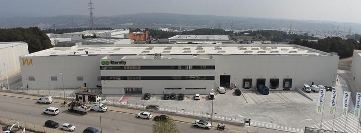 Montepino entrega a Eternity su nuevo centro industrial en Barcelona