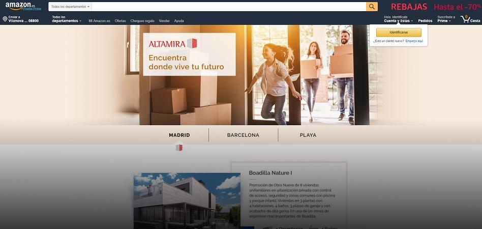 La semana del 'real estate': De la entrada de Amazon en inmobiliario a la apuesta de ActivumSG por España
