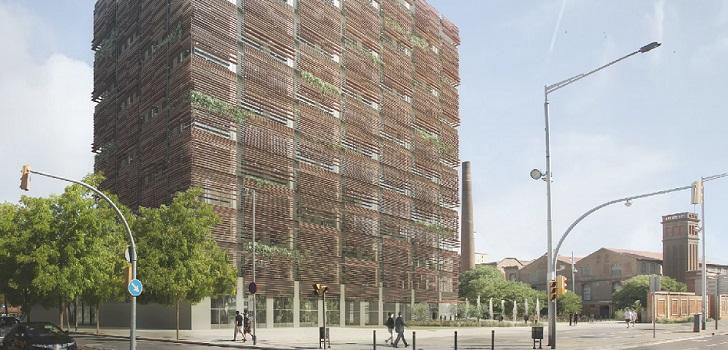 CaixaBank ultima el alquiler del edificio The Ó Building de Can Batlló