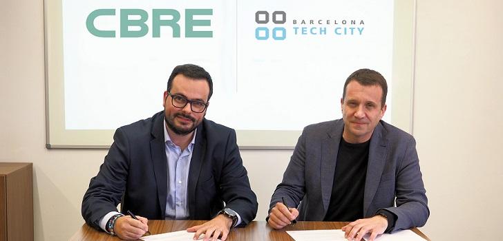 Cbre se alía con Barcelona Tech City para impulsar la innovación en el 'real estate'