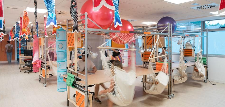 Los promotores están ya introduciendo espacios flexible en sus nuevos desarrollos de oficinas