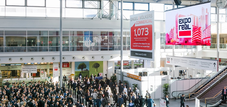 CBRE, el clúster inmobiliario catalán o Forcadell piden cita en Expo Real en Munich