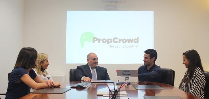 Forcadell se vuelca en PropCrowd: 200.000 euros de inversión y Dubái en el punto de mira