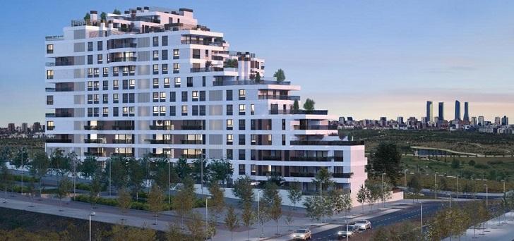 Inbisa inicia la comercialización de 155 viviendas en Madrid