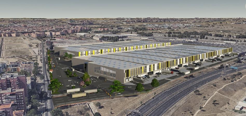 Pavasal construirá el 'megaparque' logístico de Invesco en la M-40: 80 millones para 90.000 metros de superficie