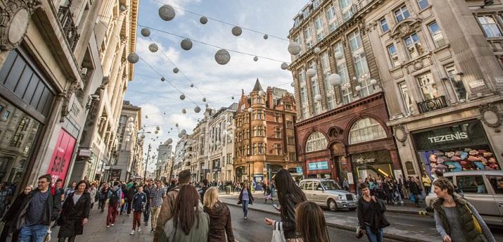 El lujo ignora el 'Brexit': Londres se corona como primer destino del sector y copa el 9,6% de las aperturas de tiendas en 2018