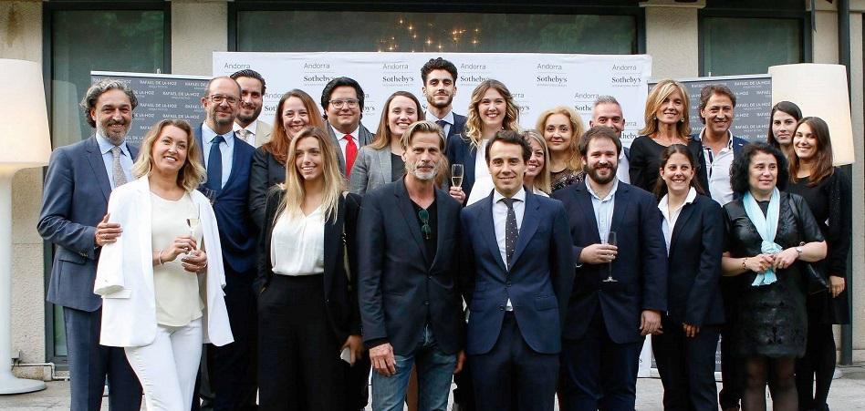 Sotheby's y Rafael de La-Hoz, unidos por Andorra