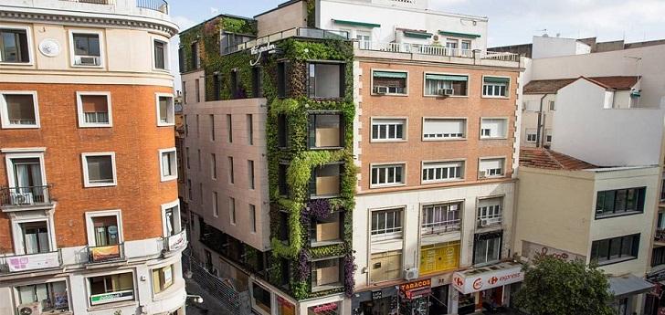 Un jardín vertical en plena ciudad