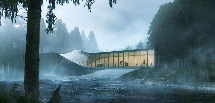 Un museo sobre el río Randselva
