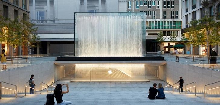 Tecnología y tradición en el primer 'flagship' de Apple en Italia
