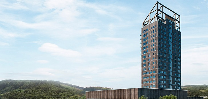 El rascacielos de madera más alto del mundo