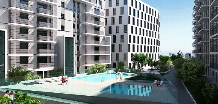 Sabadell pone un pie en el último barrio por explotar de Barcelona: 210 pisos en La Marina del Prat Vermell