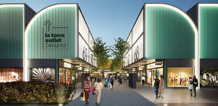 El parque comercial La Torre Outlet Zaragoza abrirá puertas en primavera
