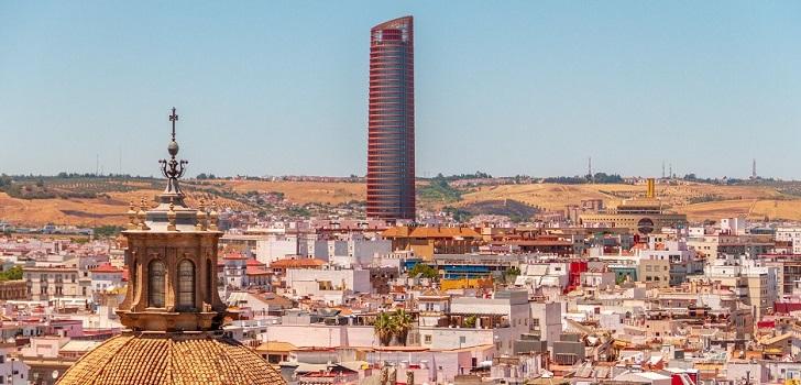 Los bancos ponen a la venta la sede de Abengoa en Sevilla