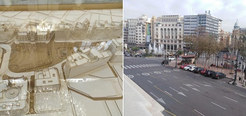 Proyecto de peatonalización de la Plaza del Ayuntamiento de Valencia