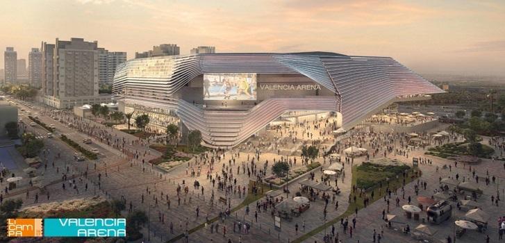 Valencia cede a Juan Roig una parcela para la construcción del Arena