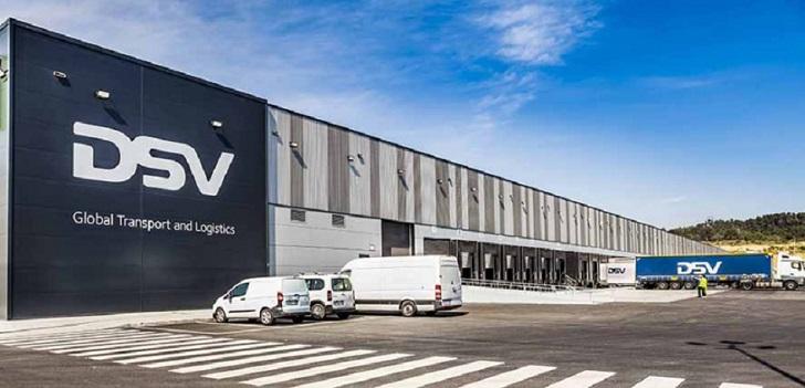 DSV invertirá 80 millones en dos nuevos centros logísticos en Barcelona y Guadalajara