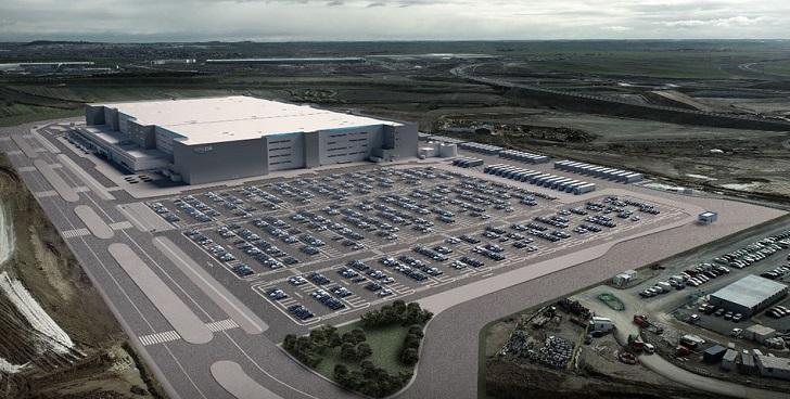 Amazon prepara una nueva plataforma de 180.000 metros cuadrados en Illescas
