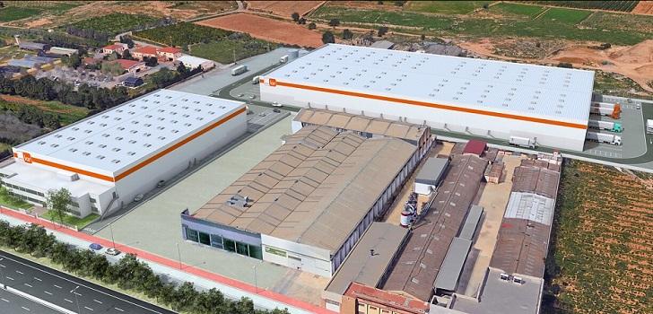 Grupo Lar acabará su complejo logístico en Valencia en septiembre