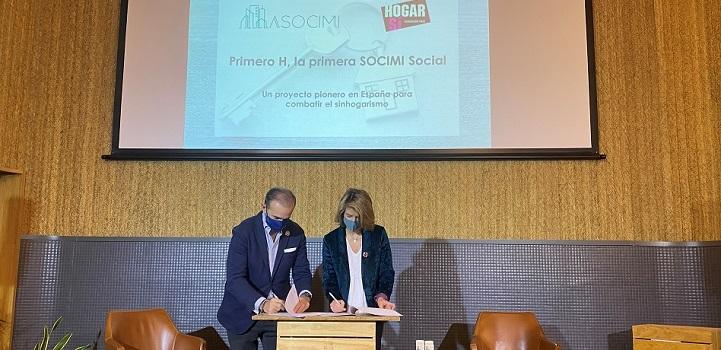 Asocimi y Hogar Sí lanzan la primera socimi de vivienda social en España