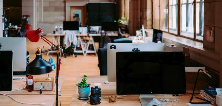 El 'coworking' derrapa en plena aceleración por el Covid-19