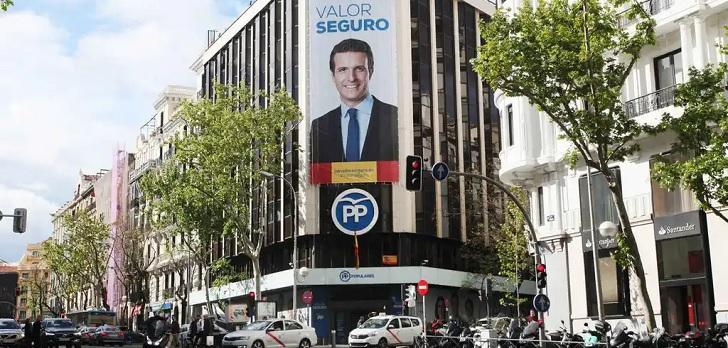 Adiós a Génova 13: las opciones del PP para sacar partido de su joya inmobiliaria