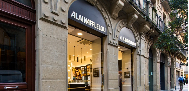 Movimiento en la calle más cara de España: Alain Afflelou abre 'flagship' en Portal de l'Àngel