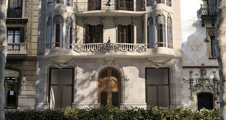 Un grupo polaco compra la Casa Alesan para levantar vivienda en Barcelona