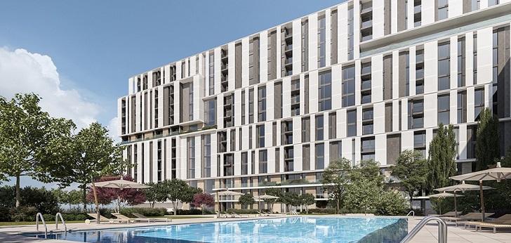 Acciona vende a Greystar 455 pisos para alquiler en Madrid por 120 millones