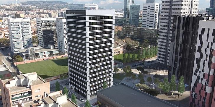 Aedas inicia su primera promoción 'build-to-rent' en Barcelona