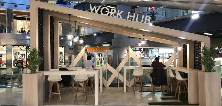 El 'coworking' llega al centro comercial: Cbre impulsa Work Hub