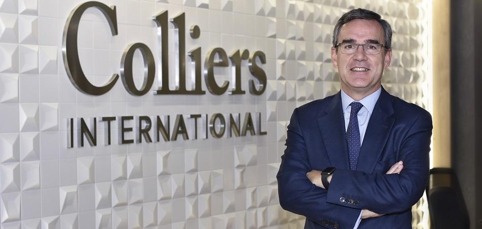 """Mikel Echavarren, consejero delegado de Colliers International España: """"Los grandes fondos están listos para invertir"""""""