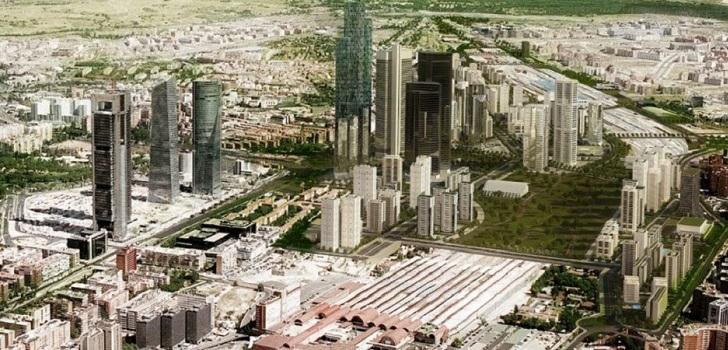 Merlin destina treinta millones a la compra de parcelas en Madrid Nuevo Norte