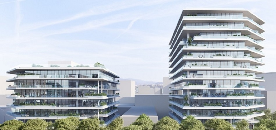 Meridia vende a Allianz oficinas en el 22@ por 180 millones de euros