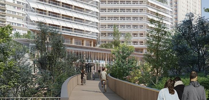 Segro levantará un centro logístico de 75.000 metros cuadrados bajo tierra en París