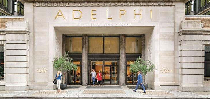 Pontegadea cierra la compra a Blackstone del edificio Adelphi en Londres por 618 millones