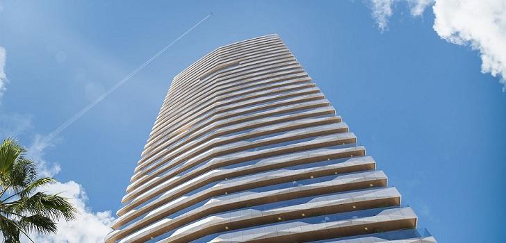 Alibuilding se lanza a la promoción de rascacielos en Benidorm
