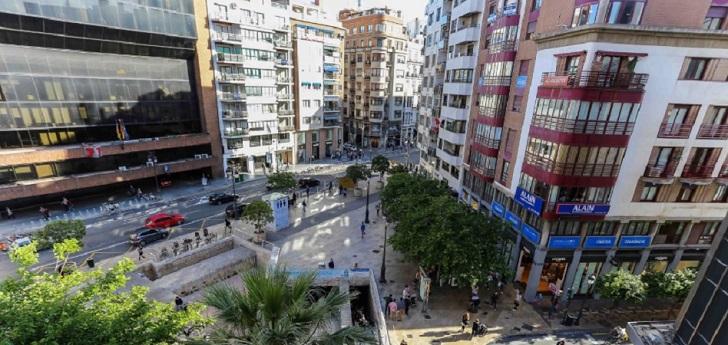 Corpfin construirá un 'hub' logístico junto a El Corte Inglés del centro de Valencia